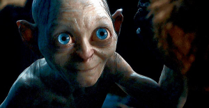 gollum happy